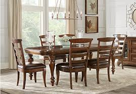 notting hill cherry 7 pc dining room rectangle traditional