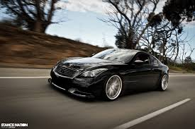 lowered cars low n slow infiniti g37 coupe duo stancenation form