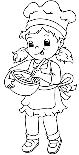 baker 43 jobs u2013 printable coloring pages