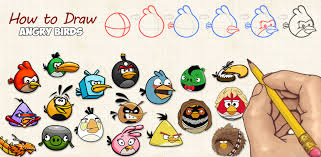 amazon draw angry birds appstore android