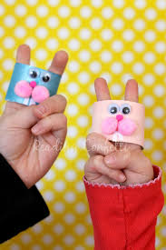 bunny finger puppets easy to make and perfect for practicing