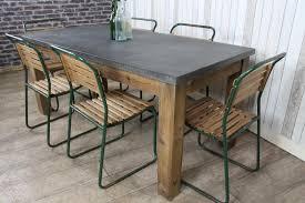 Awesome Metal Top Dining Room Table Gallery Home Design Ideas - Metal kitchen table