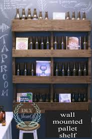 wall shelves at lowes diy pallet shelf tutorialdiy show off u2013 diy decorating and home