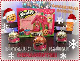 new shopkins exclusive metallic christmas bauble ornaments