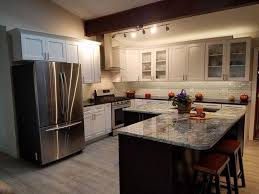 white kitchen cabinets floors contemporary kitchen greige flooring with white cabinets