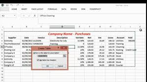 Small Business Spreadsheets Basic Excel For The Small Business Owner Part Three Youtube