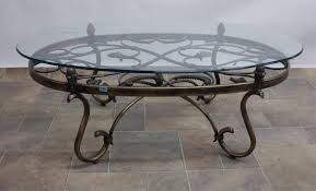 coffee table impressive on iron and glass coffee table with metal