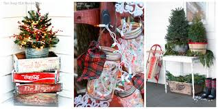 22 outdoor christmas decorations ideas for garlands 23 photos