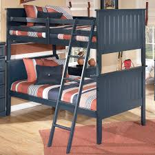 Rayville Upholstered Bedroom Set Signature Design By Ashley Leo Twin Twin Bunk Bed Ivan Smith