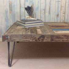 bespoke driftwood coffee table by nautilus driftwood design
