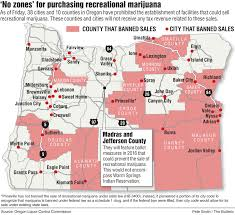 Jefferson County Tax Map Oregon Has A Deepening Marijuana Divide Growing Number Of Cities