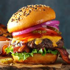 barbecued burgers recipe taste of home