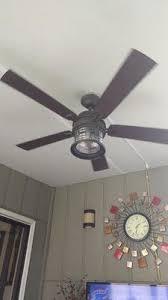 allen roth stonecroft ceiling fan allen roth stonecroft 52 in rust indoor outdoor downrod or close