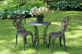 Garden Chairs Cast Iron Garden Furniture Became Popular After 1860 American