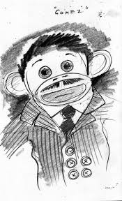 gomez addams sock monkey poststreet self expression through