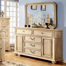 White Bedroom Dressers With Mirrors Antique White Dresser With Mirror Bestdressers 2017