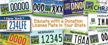 Make Your Own Vanity Plate License Plates Donate Life America
