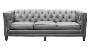 Gray Leather Sofa St Grey Leather Sofa By United Leather