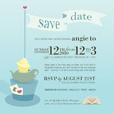 save the date baby shower in themed baby shower tomeaux