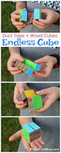 how to make a duct tape endless cube fidget toys duct tape and toy
