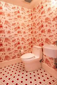bathroom wallpaper designs brooklyn toile flavor paper