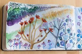 watercolor sketches u2013 sara parker textiles