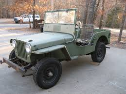 military jeep willys for sale 1946 willys cj2a classic military vehicles