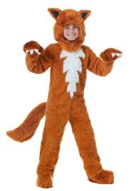 Childrens Animal Halloween Costumes by Fox Costumes Fox Costumes U0026 Masks Halloweencostumes Com