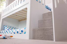 modern bunk beds with stairs fabulous childrens bunk beds with