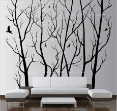 wall stickers black wall stickers black black tree wall decal download