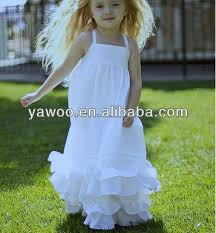 simple design baby summer dress for girls of 7 years old baby