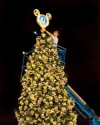 disneyland 50th anniversary gold christmas tree fun facts