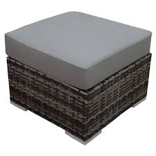 Trunk Ottoman Aluminum Storage Trunk Coffee Table Wicker Ottoman Table Outdoor