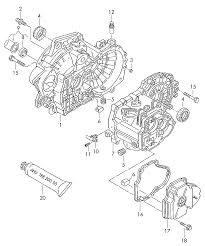 volkswagen polo 2010 2012 gear housing for 5 speed manual