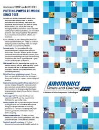 airotronics timers technicon