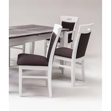Esszimmer Armlehnstuhl Esszimmer Stuhl Gabana Fichte Mattweiß Vintage Look Wendland