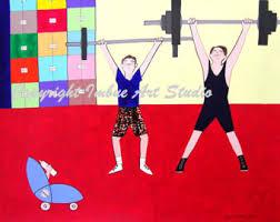 gym decor etsy