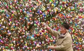 easter egg display easter egg hunt scheduled today for hamilton park in jersey city