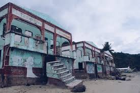 abandoned resorts on the beach