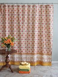 Saffron Curtains Saffron Marigold Curtains Obl Floral Vintage Orange Yellow