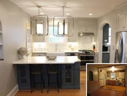 small kitchen design ideas with white cabinets before after small kitchen remodel karr bick kitchen bath