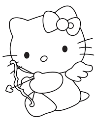 hello kitty coloring pages coloring pages of santa claus and