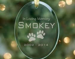 pet memorial ornament etsy