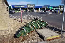 tasmanian council employee cops it over christmas tree vandalism