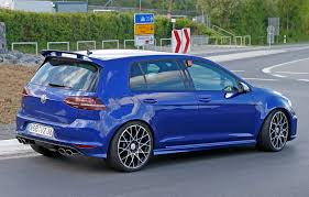 first volkswagen ever made vw golf r420 spy photos best look yet at 2016 u0027s super golf gti by