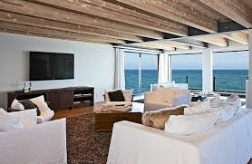 view interior of homes matthew perry s malibu house
