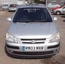 2003 03 hyundai getz 1 6 petrol long mot silver manual gearbox