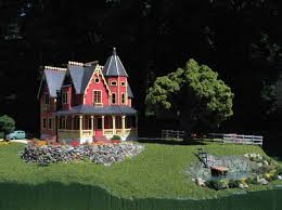 tiny victorian house victorian dollhouses tiny mansions by kathy walsh