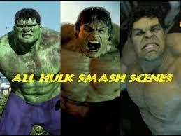hulk smash scenes 2003 2015 hd