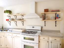interior kitchen shelving ideas with glorious shelves for wall